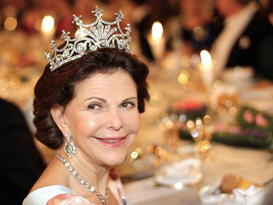 נובל, המלכה סילביה / צלם: רויטרס